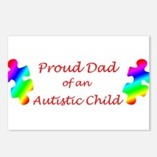 Autism Dad Postcards (Package of 8)