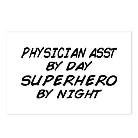 Physician Assistant Superhero by Night Postcards (
