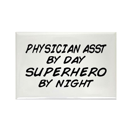 Physician Assistant Superhero by Night Rectangle M