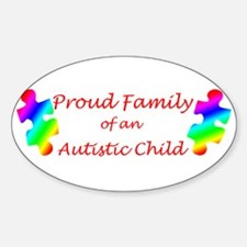 Autism Family Oval Decal