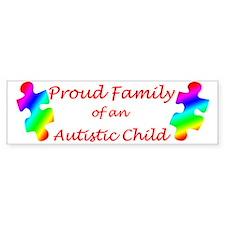 Autism Family Bumper Bumper Sticker