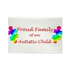 Autism Family Rectangle Magnet