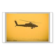 AH-64 Apache Rectangle Decal
