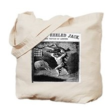 Spring heeled jack Tote Bag