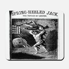 Spring heeled jack Mousepad