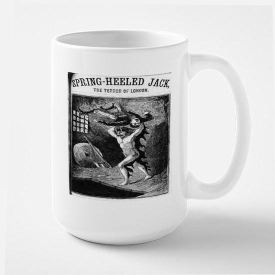 Spring heeled jack Large Mug