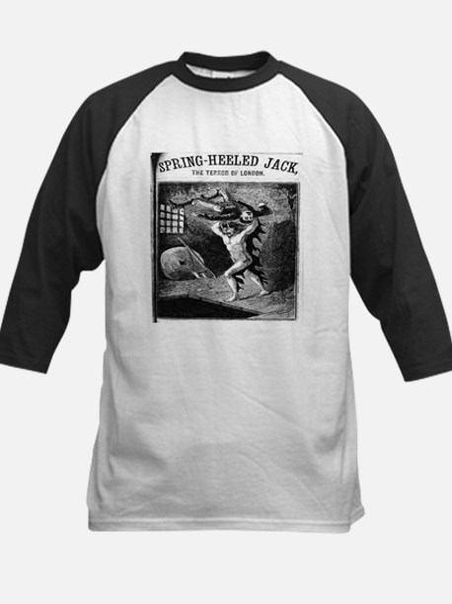 Spring heeled jack Kids Baseball Jersey