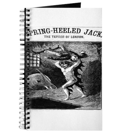 Spring heeled jack Journal