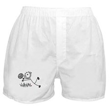 Stick Figure Volleyball Boxer Shorts