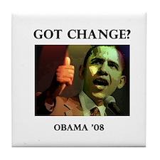 Got Change? Tile Coaster