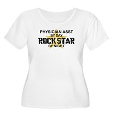 Physician Assistant Rock Star by Night T-Shirt