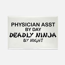 Physician Assistant Deadly Ninja by Night Rectangl