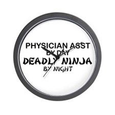 Physician Assistant Deadly Ninja by Night Wall Clo