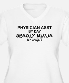 Physician Assistant Deadly Ninja by Night T-Shirt