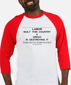 Labor Built The Country Baseball Jersey