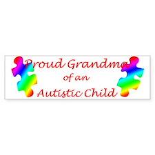 Autism Grandma Bumper Bumper Sticker