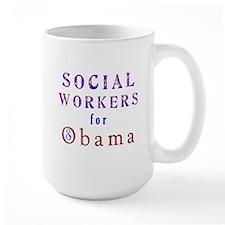Social Workers for Obama Mug