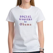 Social Workers for Obama Tee