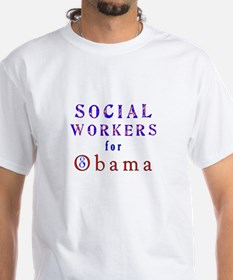 Social Workers for Obama Shirt