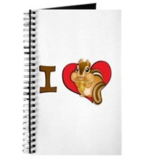 I heart chipmunks Journal