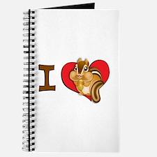 I heart chipmunks Journal