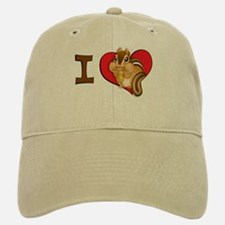 I heart chipmunks Baseball Baseball Cap