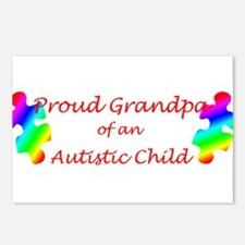 Autism Grandpa Postcards (Package of 8)