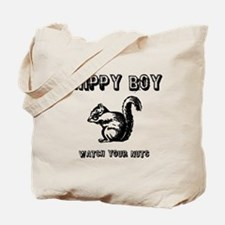 Chippy Boy - Watch Your Nuts Tote Bag
