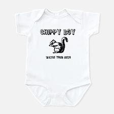Chippy Boy - Watch Your Nuts Infant Bodysuit