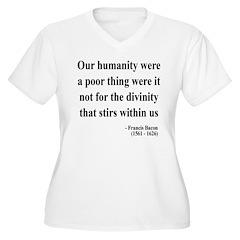 Francis Bacon Text 4 T-Shirt