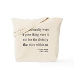 Francis Bacon Text 4 Tote Bag
