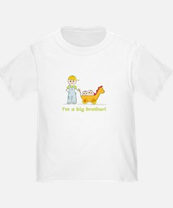 I'm a Big Brother Toddler T-shirt: Twins