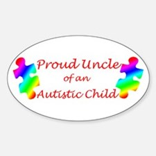 Autism Uncle Oval Decal