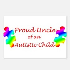 Autism Uncle Postcards (Package of 8)