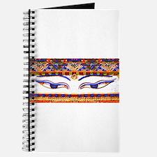 Unique Buddha eyes Journal