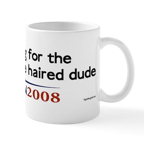 Wrinkly White-haired Dude Mug