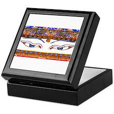 Unique Buddha eyes Keepsake Box