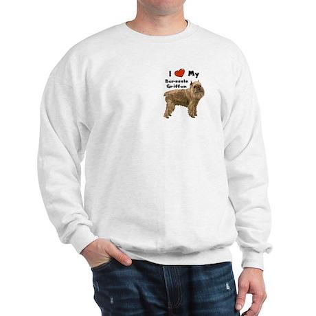 I Love My Brussels Griffon Sweatshirt