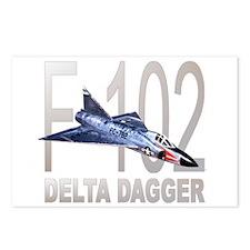 F-102 Delta Dagger Postcards (Package of 8)