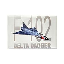 F-102 Delta Dagger Rectangle Magnet