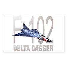 F-102 Delta Dagger Rectangle Decal