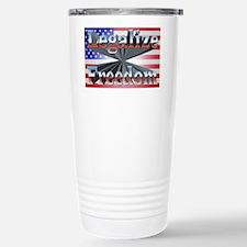 Legalize Freedom Stainless Steel Travel Mug