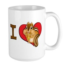 I heart chipmunks Mug