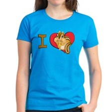I heart chipmunks Tee
