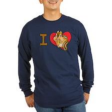 I heart chipmunks T