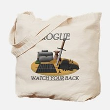 Rogue - Watch Your Back Tote Bag