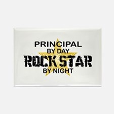 Principal Rock Star by Night Rectangle Magnet