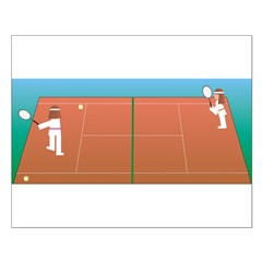 Tennis Game Posters