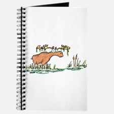 moose in a swamp Journal