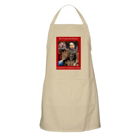 Her Eminence Condi BBQ Apron